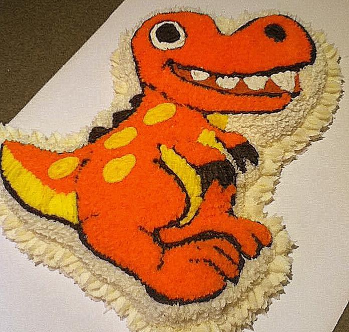 Dinosaur Birthday Cake Wilton: Domestically Inept