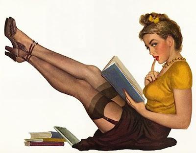 Sal con una chica que no lee - Por Charles Warnke