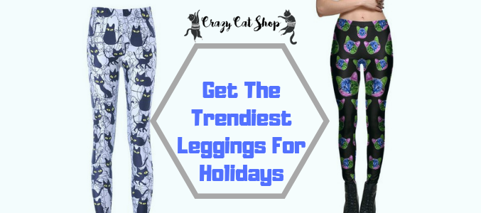 6006a0867d444 The best way to highlight the galaxy leggings is by wearing a neutral  colored jacket or cardigan, most preferably in black or deep green.