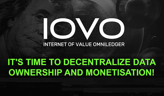 IOVO - Democratizing Data Monetization for All Participating Parties.