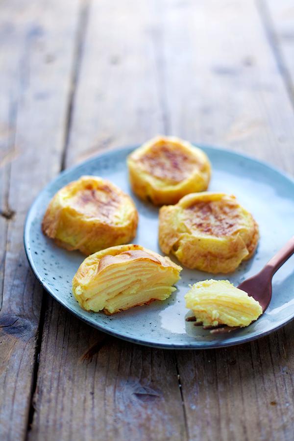 mini-tortillas espagnoles à la pomme de terre