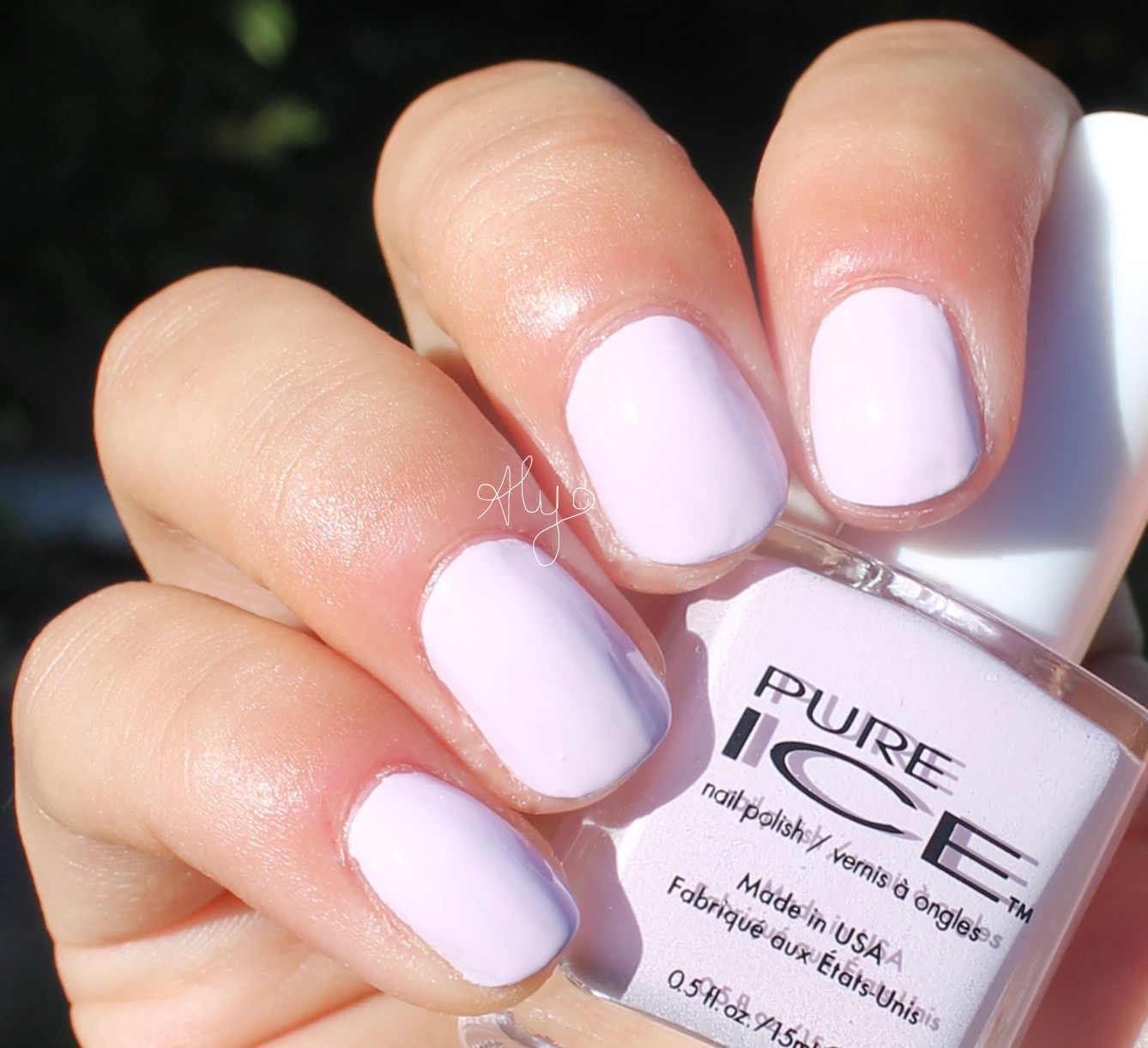 Pure Ice All Class ~ Swatches & Review - Aly Loves Lacquer