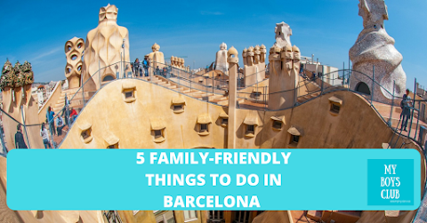5 things to do in Barcelona with kids (AD)