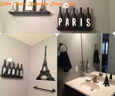 Eiffel Tower Bathroom Decor Ideas   formation decoration ...