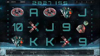 Main screen of 2027 ISS slot game