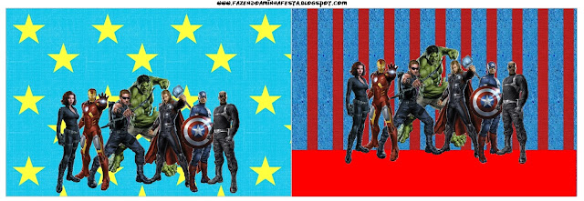 Avengers Free Party Printables, Backgrounds and Images Oh My