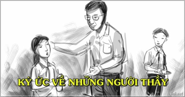 Ký ức về những người Thầy