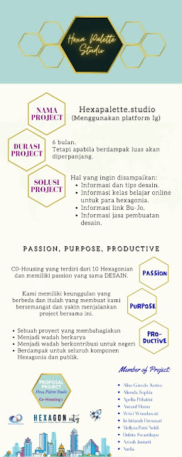 infografis project passion