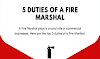 5 Key Duties Of a Fire Marshal #infographic