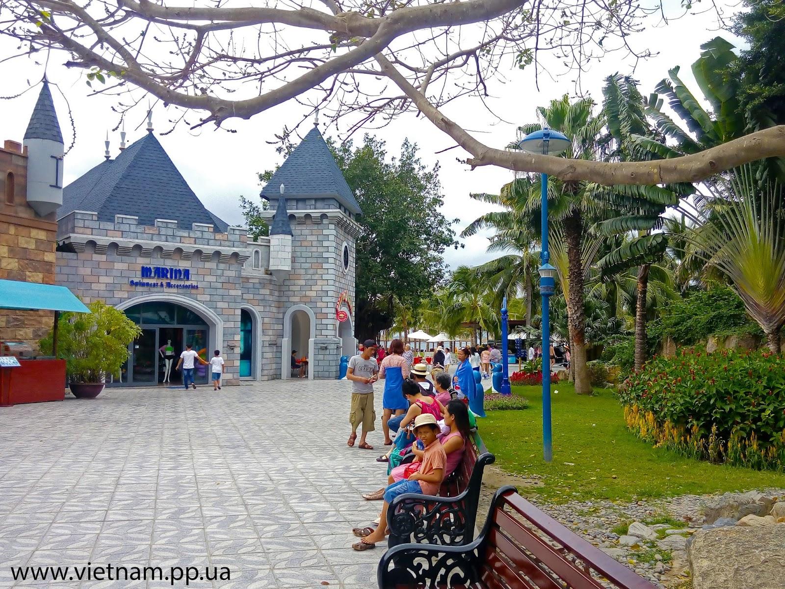 Вьетнам Нячанг остров Винперл