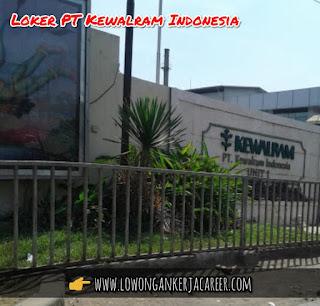 Lowongan Kerja PT Kewalram Indonesia 2020 Kawasan Dwipapuri Rancaekek