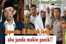 Laporan Dari Ustadz Maaher Ditindaklanjuti Polri, Abu Janda Makin Panik !!