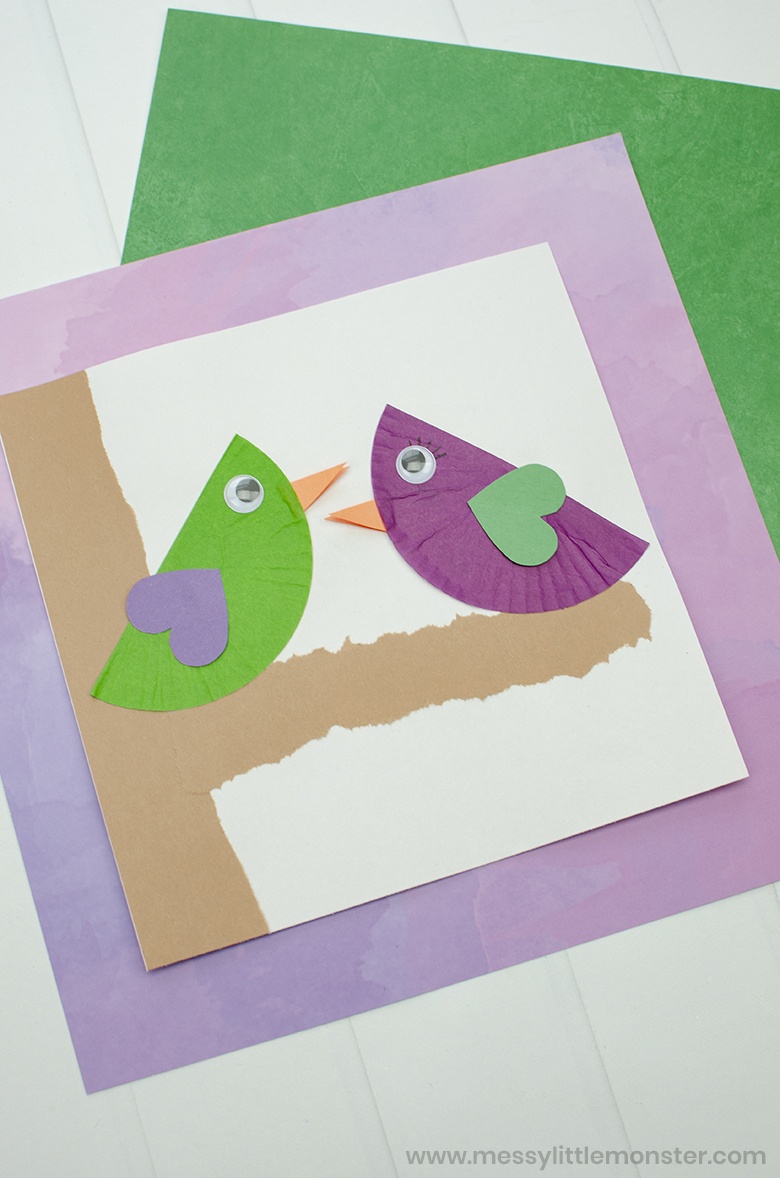 love bird craft for kids