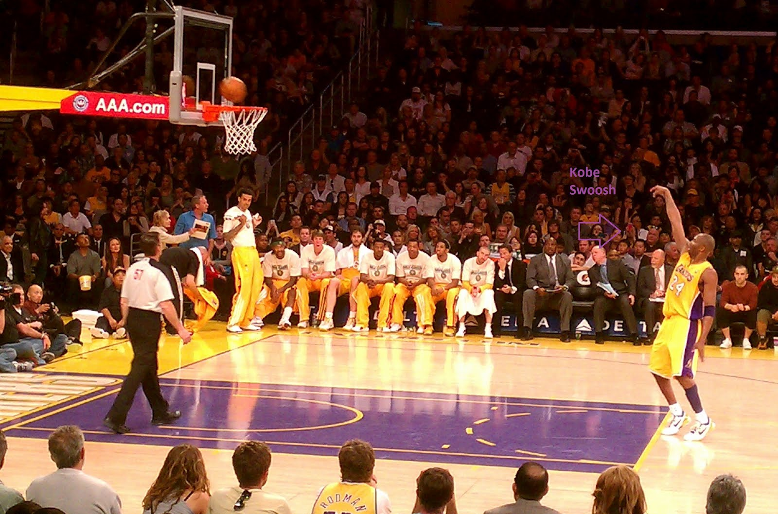 HIGH DOLLAR HIPPIE: Lakers GameLakers Game
