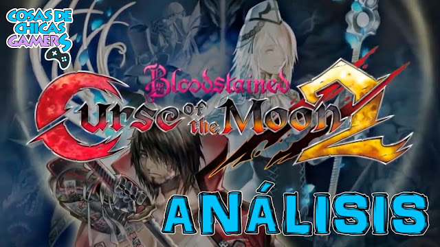 bloodstained curse of the moon 2 portada de analisis