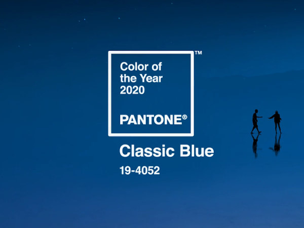 El color del 2020 según Pantone es el Classic Blue