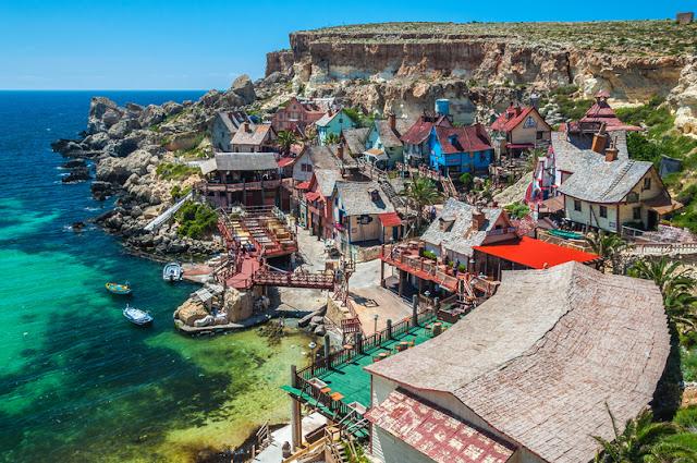 Ngôi làng Popeye của Malta