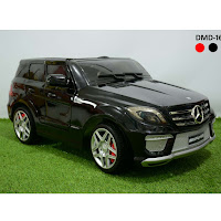 Mobil Mainan Aki Junior DMD168 Mercedes Benz ML-63 Ban EVA Lisensi