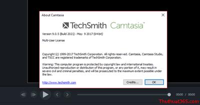 Hướng dẫn crack Camtasia Studio 9.x thành công 100%-3