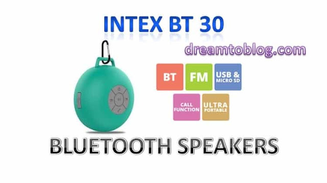 INTEX BT-30 BLUETOOTH SPEAKER