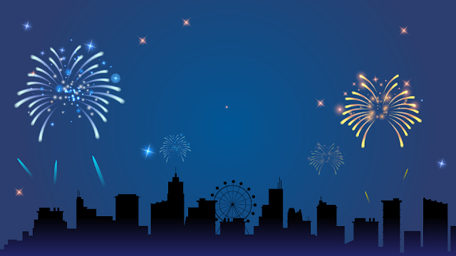 kartu ucapan tahun baru