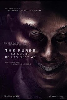 Póster: The Purge: La noche de las bestias (James DeMonaco, 2.013)