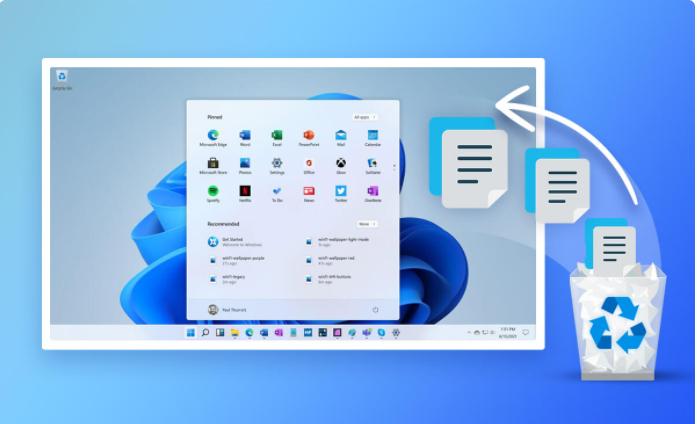 كيفية استرداد الملفات المحذوفة من Windows 11