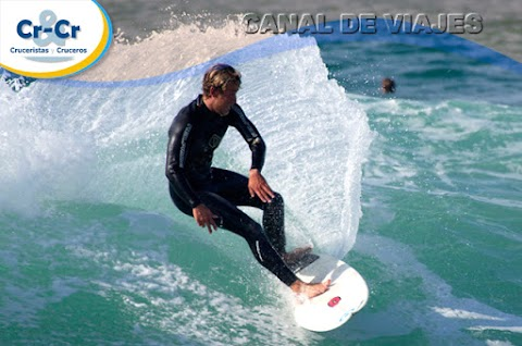 LISBOA, MUSA DE LOS SURFISTAS