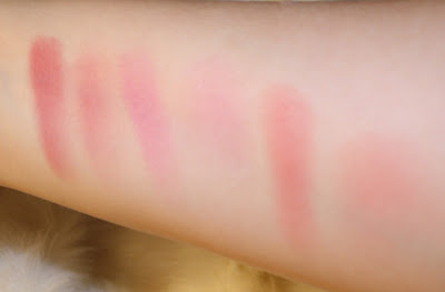 Too Faced love Flush Swatch