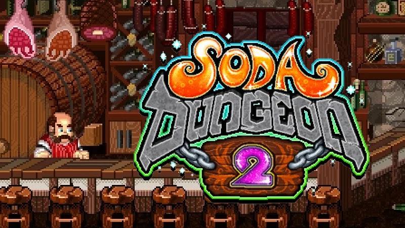 قم بتنزيل Soda Dungeon 2 لقهر الأبراج المحصنة المليئة بالوحوش. هل أنت مستعد للمغامرة؟