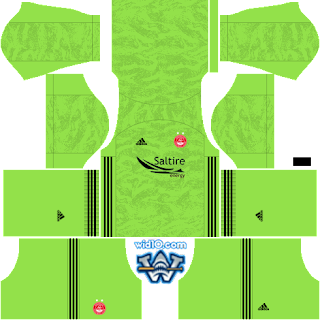 Aberdeen FC Dream League Soccer fts 2020 DLS FTS Kits and Logo,dream league soccer kits