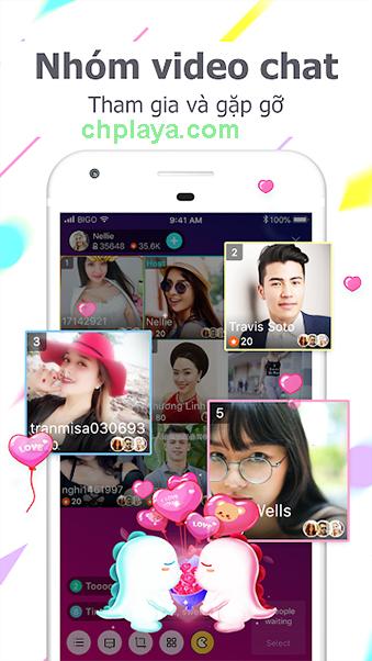 Tải BIGO LIVE - Ứng Dụng Chat, Live Stream Video Trực Tuyến c