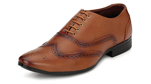 amazon - ARYAFAN Men's Synthetic Leather Casual Office Use Formal Shoes for Mens and Boys