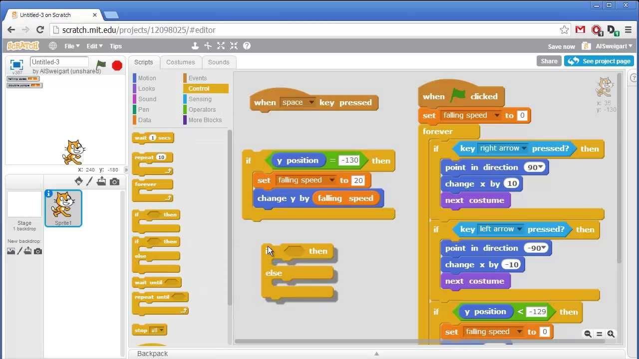 Techno Rookie Getting Started With Scratch Coding In A