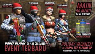 Informasi Event PB Garena Yang Akan Datang 20 Desember 2016 Menyambut Natal