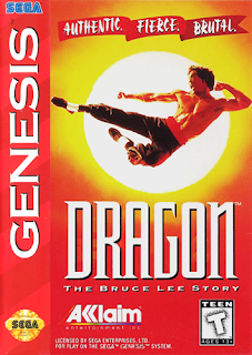 Dragon: The Bruce Lee Story (BR) [ SMD ]