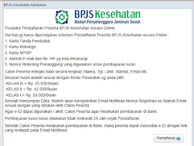 BPJS Kesehatan - Cara Daftar Peserta BPJS Secara Online