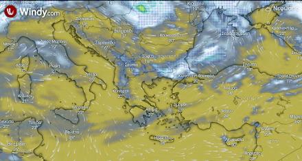 Τοπικές βροχές στην Ανατολική Μακεδονία και Θράκη - Νέα άνοδος της θερμοκρασίας - Ηλιοφάνεια στην υπόλοιπη χώρα