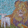 AAE Glass Featured Artist Brenda Nicklas of Laughing Dog Mosaics