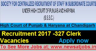 High-Court-Punjab-Haryana-clerk-Recruitment-2017
