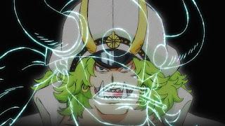 ワンピースアニメ 987話   百獣海賊団 飛び六胞 ササキ   ONE PIECE Beasts Pirates Tobiroppo
