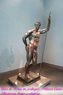 principe helenico bronze turismo roma - Museu Nacional Romano do Palácio Máximo