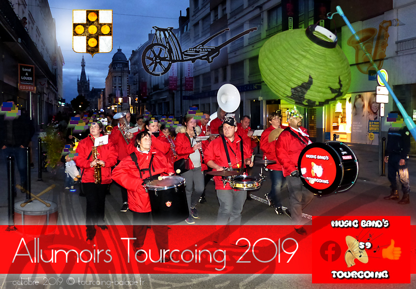 Allumoirs Tourcoing 2019 - Défilé Music Band's