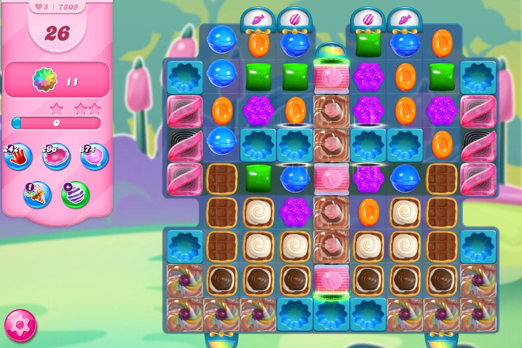 Candy Crush Saga level 7809