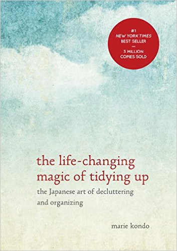 "KonMari Krazy {The Life-Changing Magic of Tidying Up}~ ""Now,"" I said, ""we have to hold every item and ask ourselves, 'Does it spark joy?'  And if it does, then we keep it.  If not, it goes."""