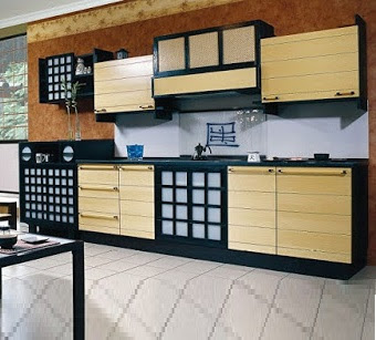 Japanese style kitchen design decor cabinets ideas 2019