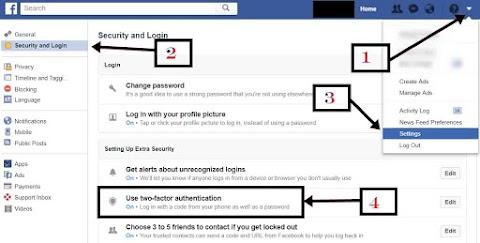 Social Media पर Two Step Verification कैसे लगाकर प्रयोग करे