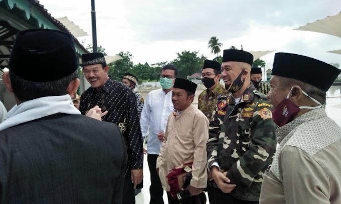 Ketua Pejuang Siliwangi Indonesia Provinsi Banten Dampingi Stafsus Wapres RI Kunjungi Kesultanan Banten