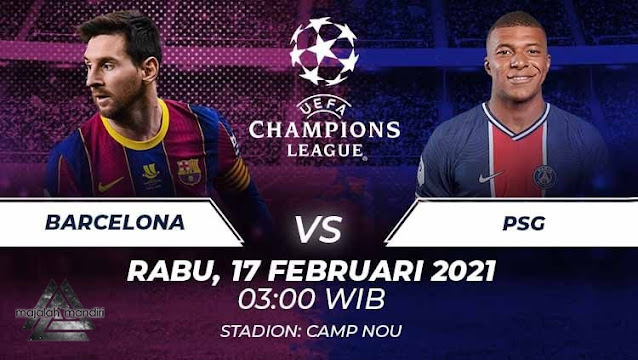 Prediksi Barcelona Vs Paris Saint Germain