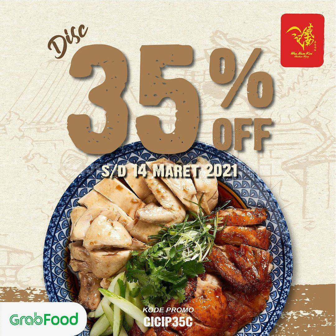 WEE NAM KEE Promo DISKON 35% via GRABFOOD